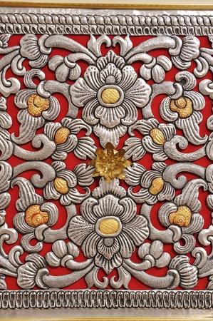 Thailand craft pattern photo