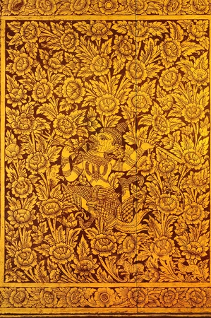 Literature Thai pattern photo