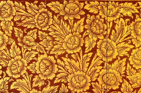 Ancient Thailand pattern Stock Photo - 13832199