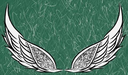 Preliminary wings sketch version