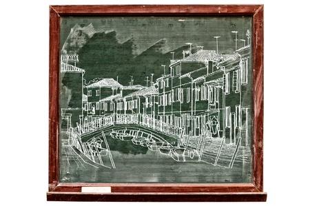 Venice illustration on board Stock Illustration - 14243264