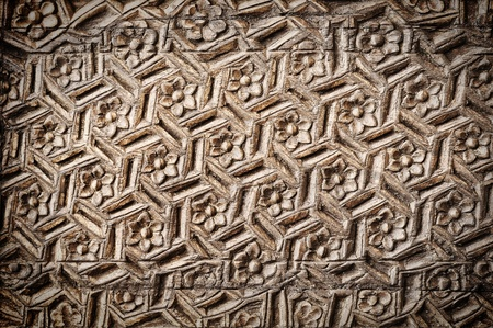 Seamless wood pattern ; Thailand contemporary style photo