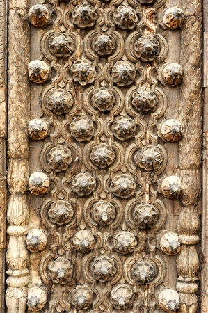 Ancient wood pattern ; india contemporary style photo
