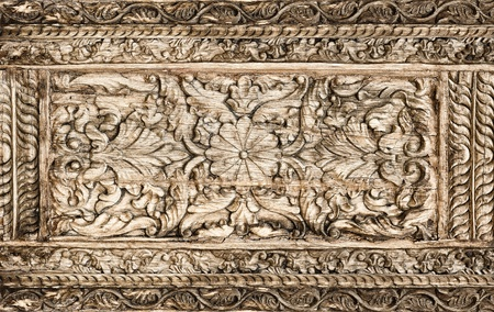 Ancient wood pattern ; contemporary style