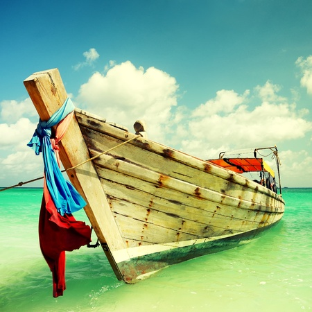 Long-tailed boat  from Thailand photo