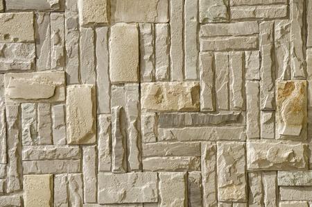 Stone pattern on wall Stock Photo