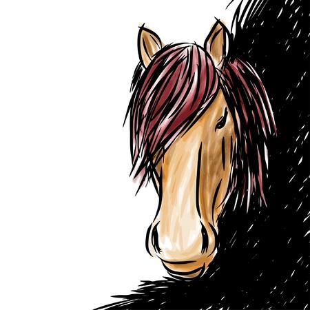 Horse head-shot