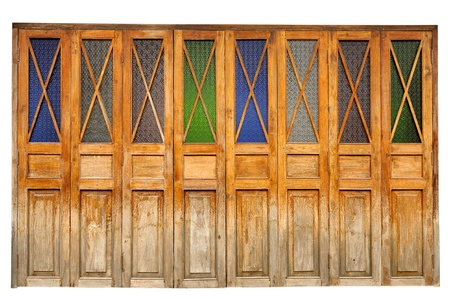 Thailand doors country style photo