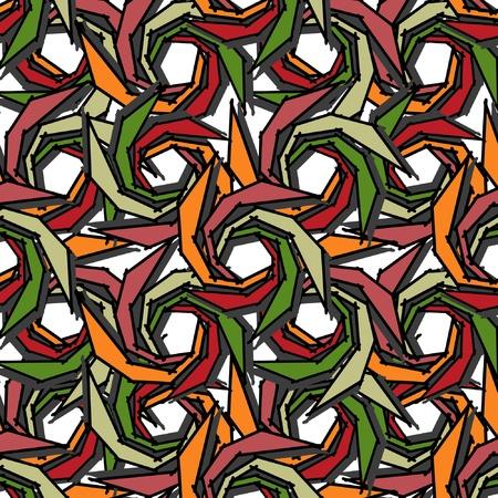 Seamless spiral Stock Vector - 14530790