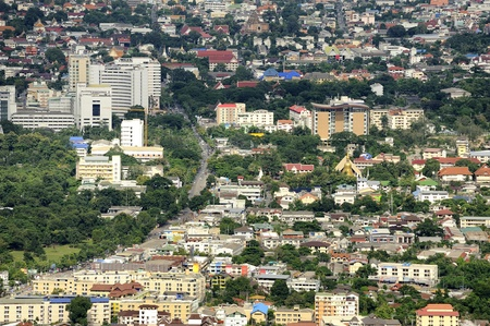 Chiang mai City : High angle view Planning Thailand photo