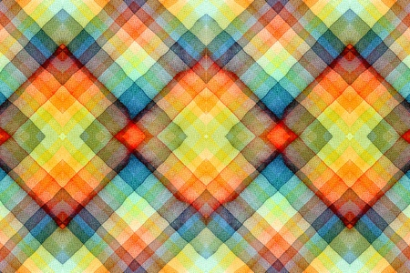 Abstract tartan watercolors ; colors wet on dry paper Stock Photo - 14789803