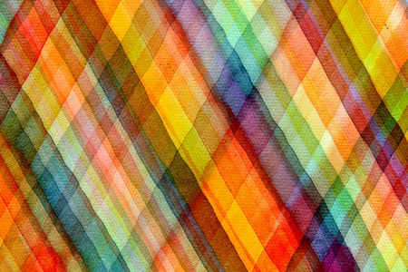 Abstract tartan watercolors ; colors wet on dry paper Stock Photo - 14789806