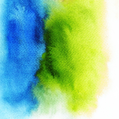 Abstract stain watercolors colors wet on wetpaper