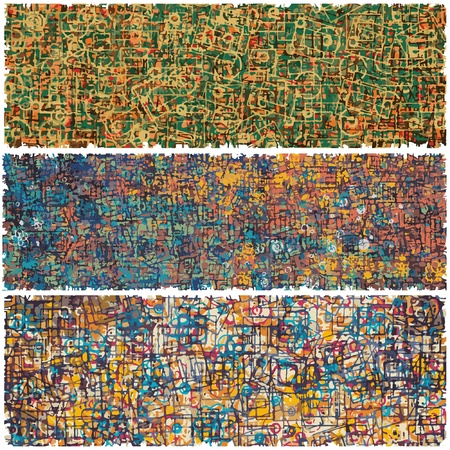 Seamless modern pattern   illustration