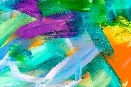 Abstract paint stripe Ilustracja