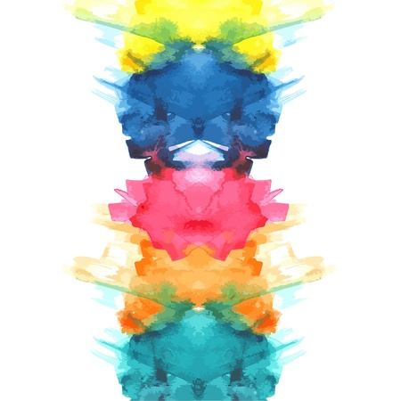 Primary watercolor Stock Vector - 15503820