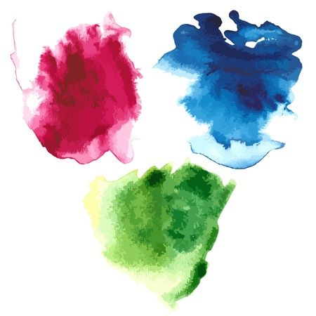 Stain watercolor  Stock Vector - 15503810
