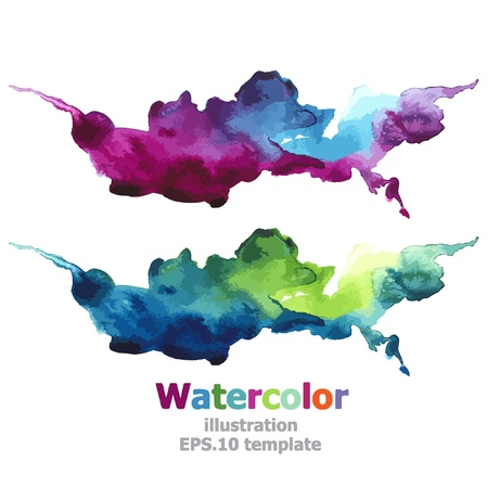 Abstract stripe paint : illustration Vector