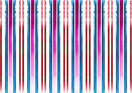 Seamless stripe watercolor