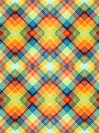 Seamless akwarela tartan Ilustracja