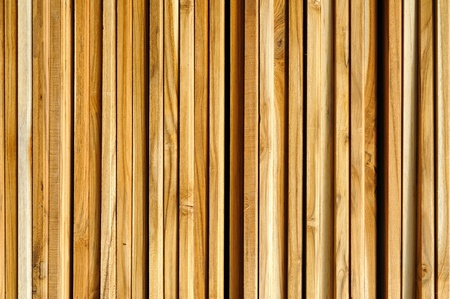 Wall teak wood photo