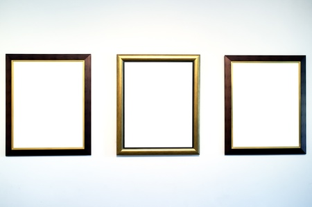 square image: Frame gallery Stock Photo