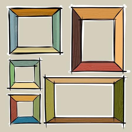 picture: Frame sketchbook Illustration