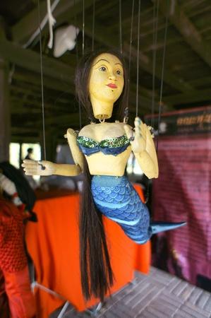 hoon: CHIANG MAI THAILAND-FEB. 23 : ASEAN Enchanting Puppets 2013.Identity Hoon sai Sema Marionettes of Thailand at CMU. Art Center.on FEB. 23,2013 in Chiangmai,Thailand Editorial