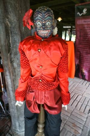 CHIANG MAI THAILAND-FEB. 23 : ASEAN Enchanting Puppets 2013.Identity Hoon sai Sema Marionettes of Thailand at CMU. Art Center.on FEB. 23,2013 in Chiangmai,Thailand Stock Photo - 18832866