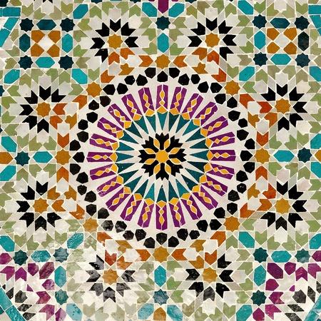 Ancient mosaic photo