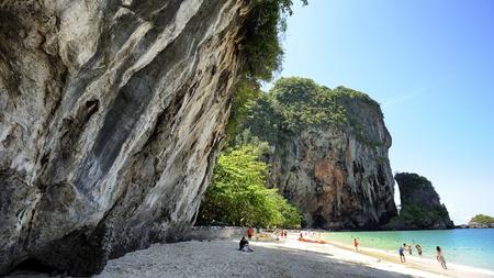 railey: Railey spiaggia di Krabi Thailandia Archivio Fotografico