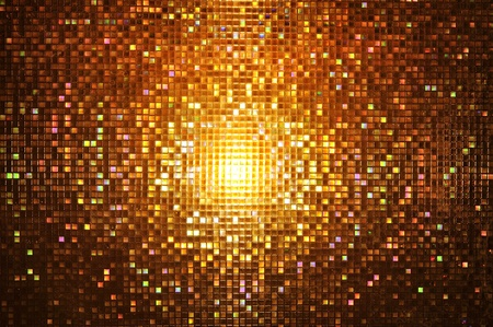party background: Abstract mosaic : night style