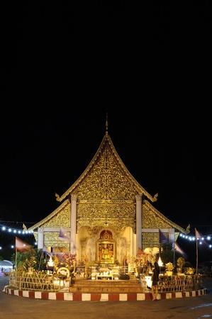 Chedi Luang temple : Chiang Mai Thailand. photo