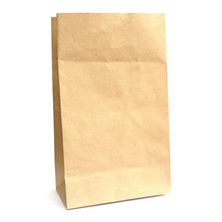 Recycle paper bag photo