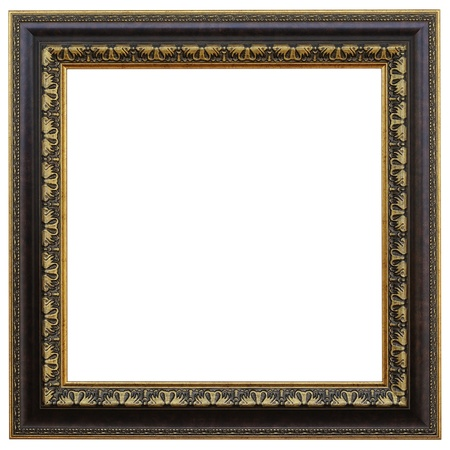 Antique frame isolated on white background Stock Photo - 20363327