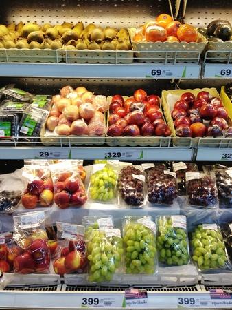 shelving: Super market