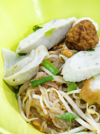 Thai noodle photo