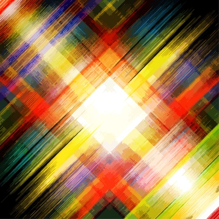 Abstract stripes watercolors Vector