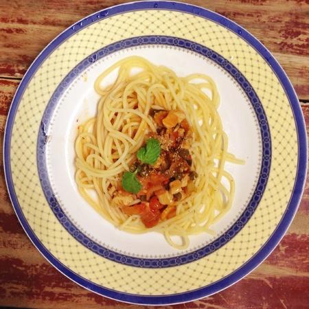abstract: Spaghetti Stock Photo