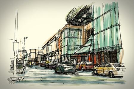 sketchbook: Street sketchbook