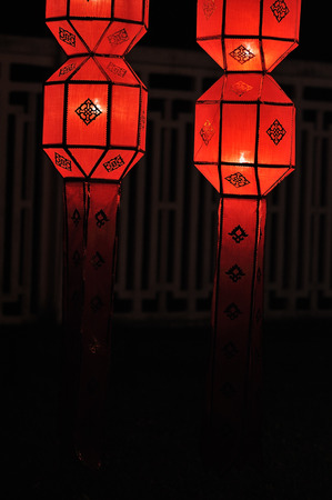 Lantern festival in Thailand photo