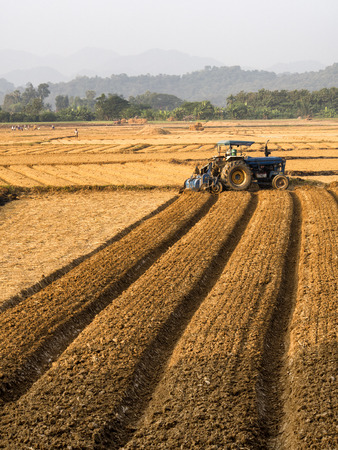 agriculture machinery: Agricultural fields