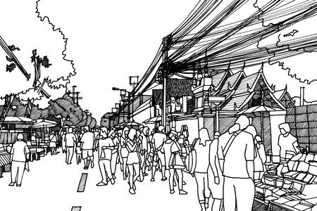 City street sketchbook