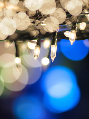 Light LED. decoration outdoors photo
