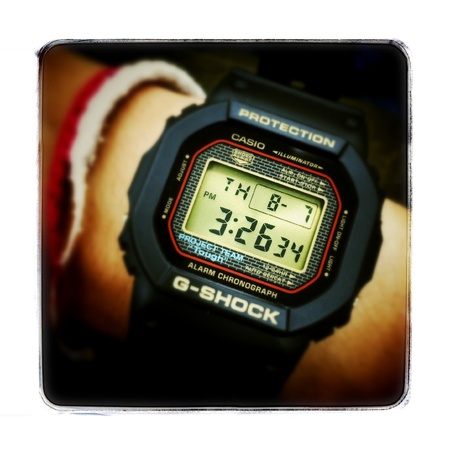 lcd: G Shock classic DW-5025SP 25th Limited Edition