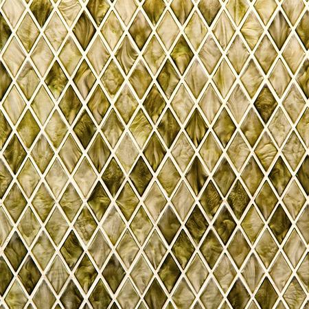 trapezoid: Patr�n estilo trapecio mosaico Foto de archivo