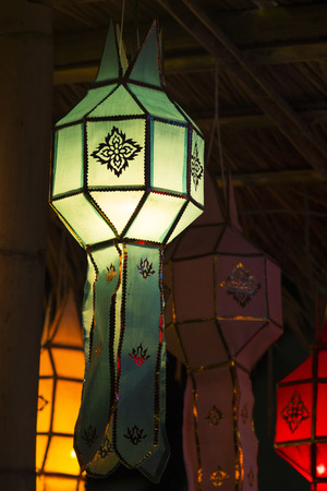 Thailand lanterns style photo