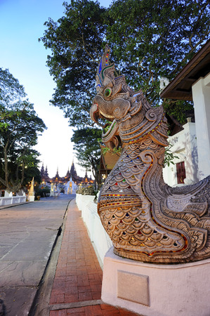 architectural style: Ancient Thai architectural style