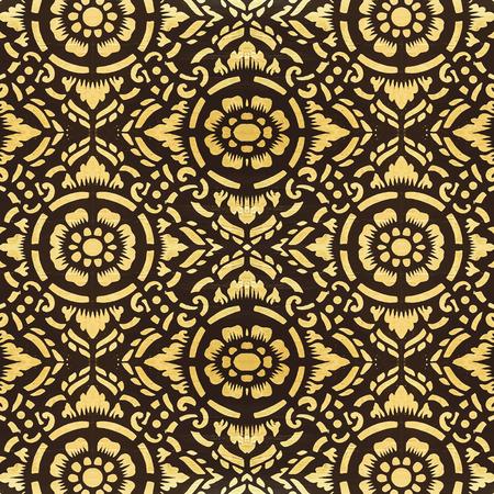 lanna: Thailand Lanna pattern vector