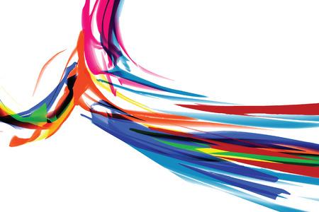 e new: Watercolor stripes pattern vector Illustration